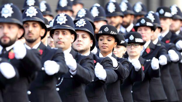 イギリスの警官隊